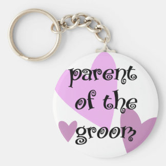 Parent of the Groom Keychain