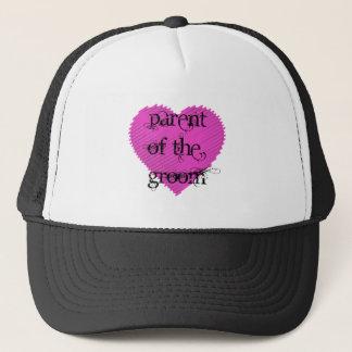 Parent of the Groom Trucker Hat