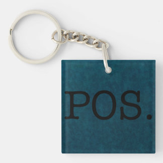 Parent Over Shoulder P.O.S - POS Quote Template Keychain