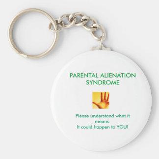 Parental Alienation Syndrome Keychain