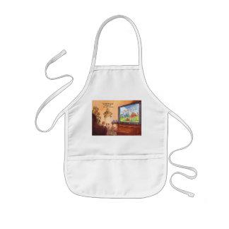 Parental control kids' apron