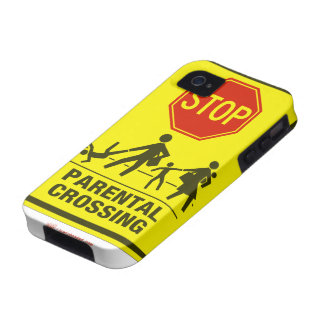 Parental Crossing iPhone Case iPhone 4/4S Covers