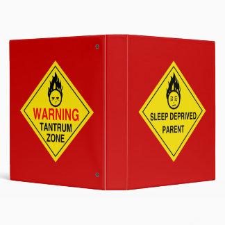 Parental Warnings Binder