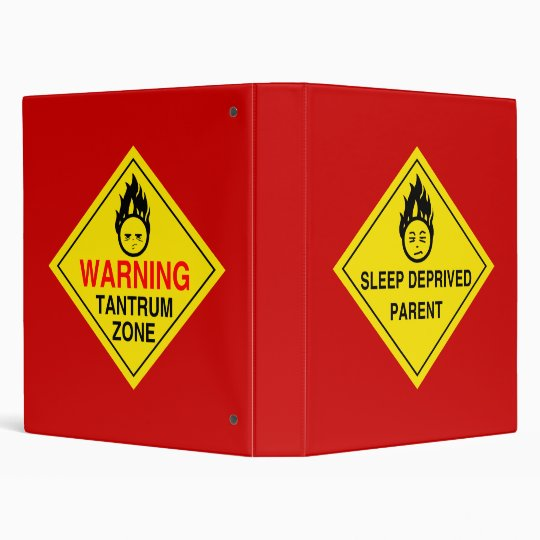 Parental Warnings Binder