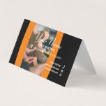 PARENTHESE ARTISAN Collection Folded Business Card
