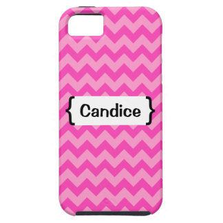 { Parenthetically Pink Zig Zag } iPhone 5 Cases