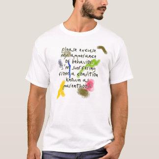 Parenthood appologie shirt
