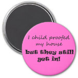 Parenting humor joke quote novelty fridge magnets