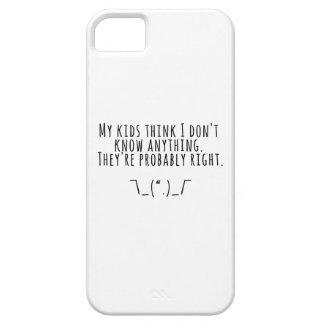 Parenting Truths iPhone SE/5/5s Case