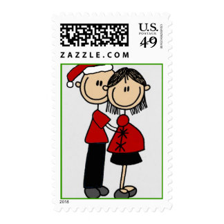 Parents 2 be Christmas Stamp
