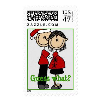 Parents 2 be NEWS - Christmas Postage Stamp
