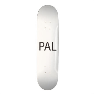 Parents Are Listening -or- Peace And Love.ai Skateboard