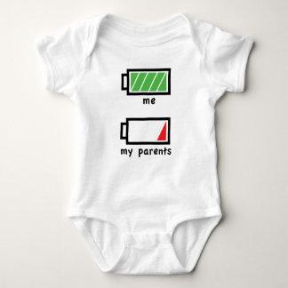 Parents Batteries Low Baby Bodysuit