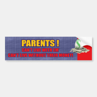 Parents Bumper Sticker