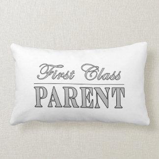Parents First Class Parent Throw Pillow