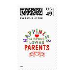 Parents Happiness Stamp