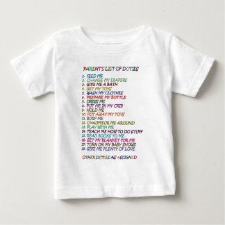 Parent's job baby T-Shirt