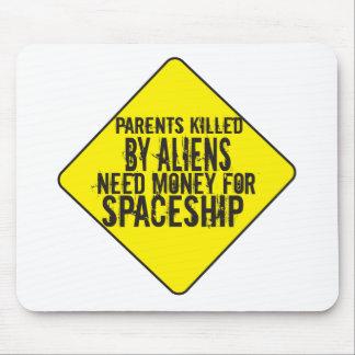 Parents Killed By Aliens Mousepad