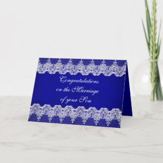 Parents of Bride Congratulations Greetings Card