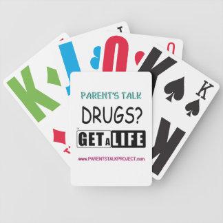 PARENT'S TALK PLAYING CARDS (GET A LIFE)