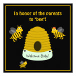 Parents To Bee Bumble Bee Baby Shower Personalized Invite