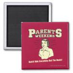 Parents Weekend: Hide Everything Fridge Magnet