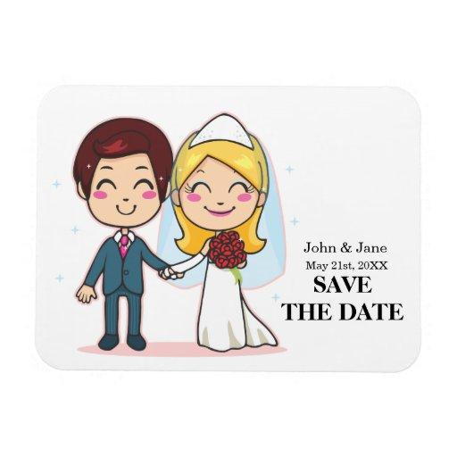 Pares casados que llevan a cabo las manos imanes