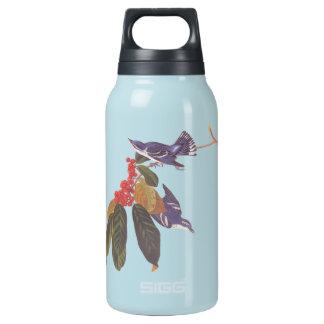 Pares cerúleos del pájaro de la curruca de Audubon