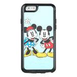 Pares clásicos de Mickey y de Minnie el | Funda Otterbox Para iPhone 6/6s