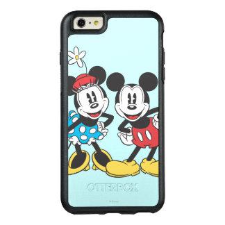 Pares clásicos de Mickey y de Minnie el   Funda Otterbox Para iPhone 6/6s Plus