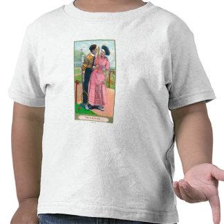 Pares con la estafa vieja de GearSame del tenis Camisetas