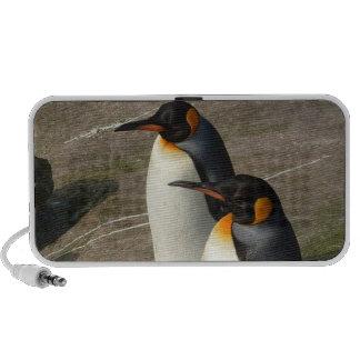 Pares de altavoces de los pingüinos