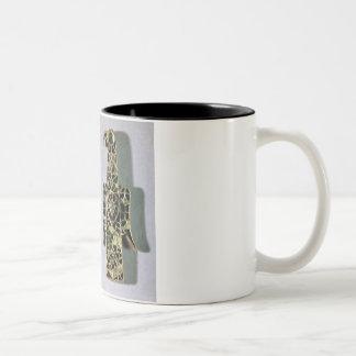 Pares de broches Eagle-Formar (metal y esmalte) Tazas De Café