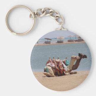 Pares de camellos tradicionales que se sientan en  llavero