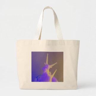 Pares de caracoles púrpuras bolsas
