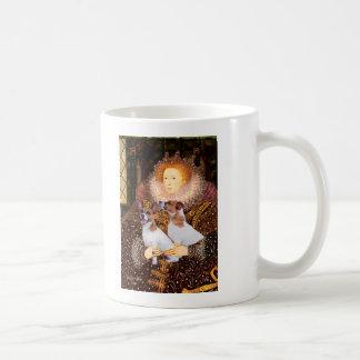 Pares de Jack Russell - reina Taza De Café