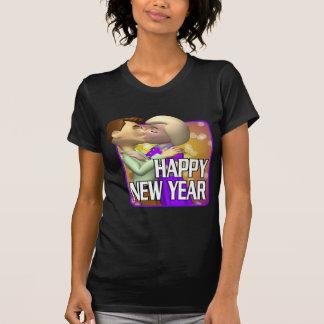 Pares de la Feliz Año Nuevo Tee Shirt