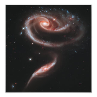 Pares de la galaxia del Arp 273 (telescopio de Hub Fotografías