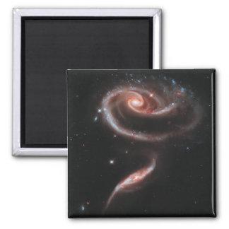 Pares de la galaxia del Arp 273 (telescopio de Imán Cuadrado