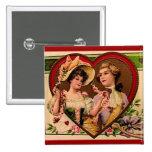 Pares de las tarjetas del día de San Valentín del  Pin