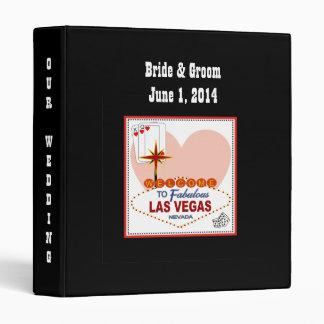 Pares de Las Vegas de corazones que casan la Carpeta 2,5 Cm