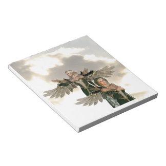 Pares de libreta de los ángeles libreta para notas