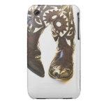 Pares de los zapatos 2 del vaquero Case-Mate iPhone 3 protectores