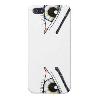 Pares de ojos iPhone 5 carcasas