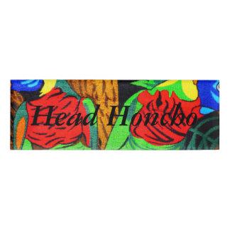 Pares de Parakeets coloridos Etiqueta Con Nombre
