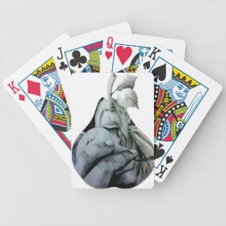 Pares de peras barajas de cartas