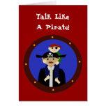 ¡Pares de piratas, Arrgh! Felicitación