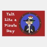 ¡Pares de piratas, Arrgh! Rectangular Altavoz