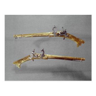 Pares de pistolas, 1624-26 postales