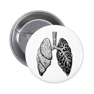 pares de pulmones pin redondo de 2 pulgadas